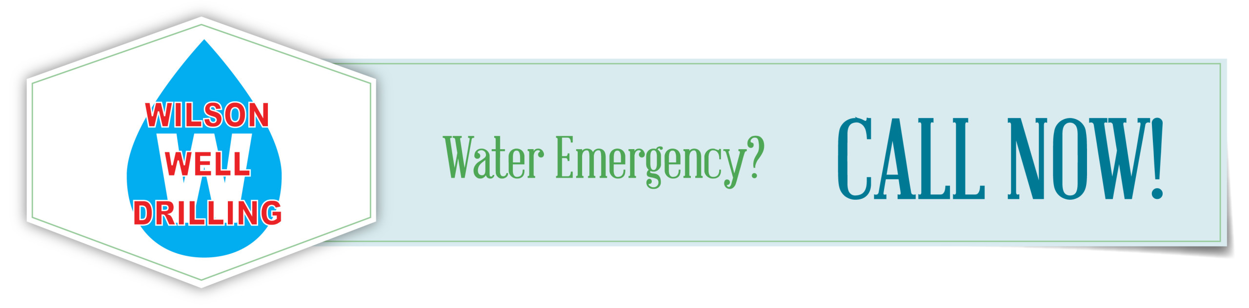 Water Emergency - Call Now